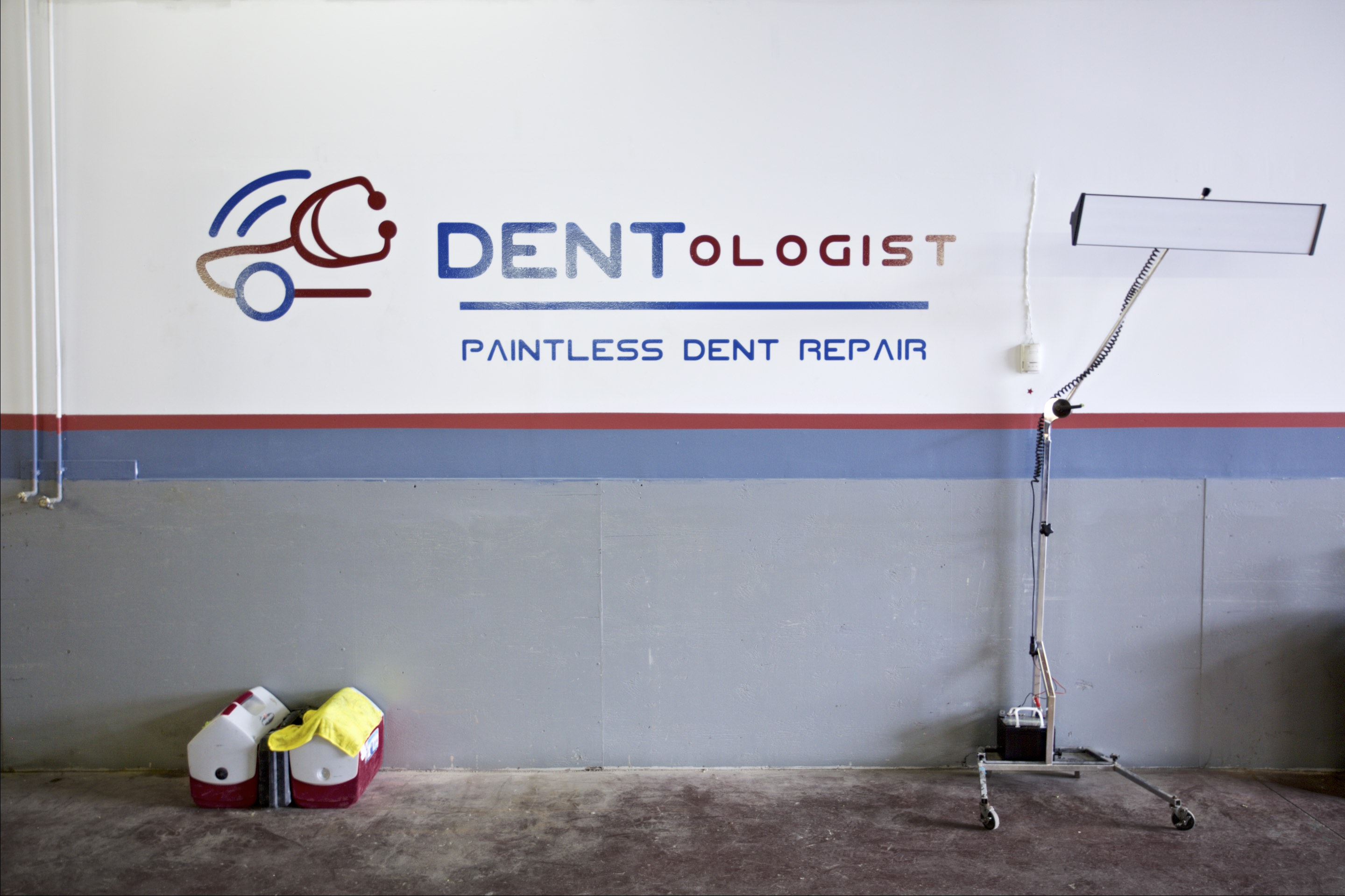 dentologist paintless dent repair